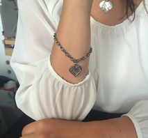 Armband Kurbitshjärta