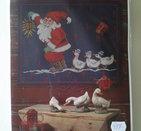 """Julkalender-""""tomte med gäss"""""""