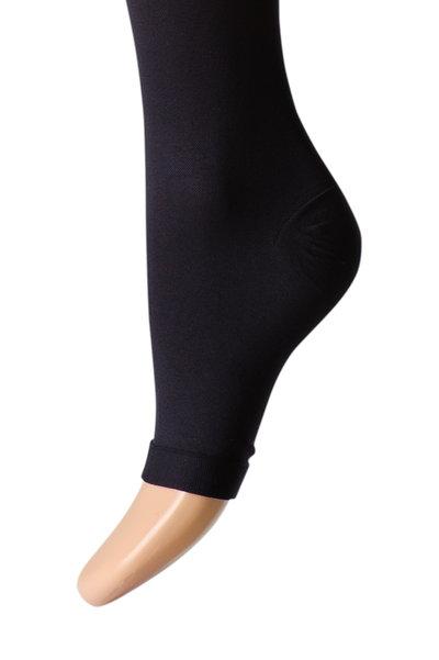 Støttestrømper knæhøje 22-27 mmHg, åben tå