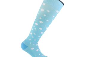 Dotty Blue støttestrømper  (37-39)