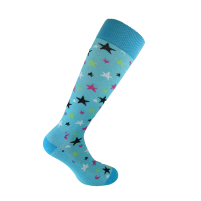 Starling Blue chaussettes de contention