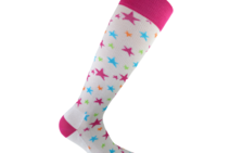 Starling White compression socks