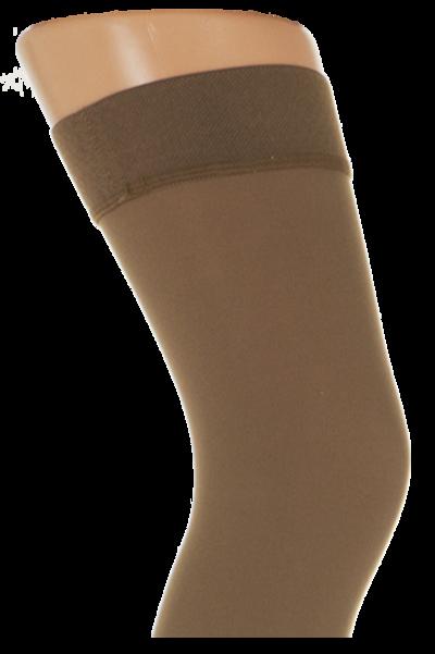 Støttestrømper stay-up med silikonbånd, 22-27 mmHg