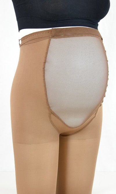 Collants de contention en microfibre, pour la grossesse, 18-22 mmHg
