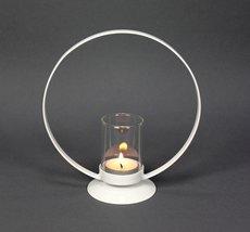 Ljuslykta Cirkeln - Vit