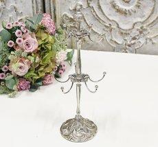 Chic Smyckesställ - Antik Silver