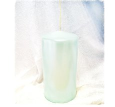 Vio Blockljus - Pärlemor Mint