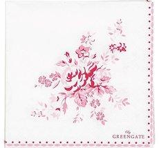 GreenGate - Kaffeservett Abelone Raspberry