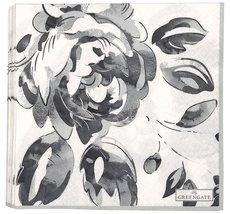 GreenGate - Servett Amanda Dark Grey (Large)