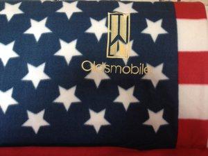 Oldsmobile USA pläd