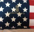 Camaro USA pläd