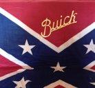 Buick old Sydstatspläd