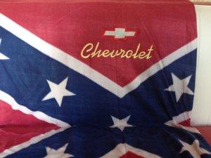 Chevrolet old Sydstatspläd