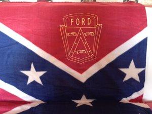 Ford old Sydstatspläd