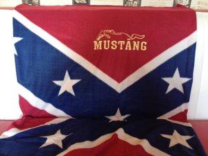 Mustang Sydstatspläd