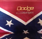 Dodge Charger Sydstatspläd