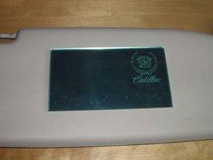 Cadillac makeup-spegel