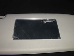 Plymouth makeup-spegel