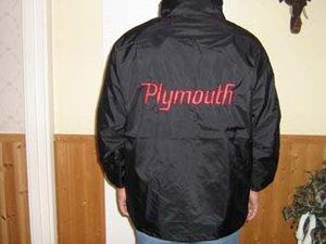 Plymouth old vindjacka