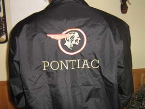 Pontiac old vindjacka