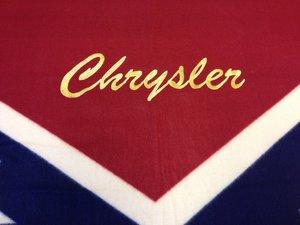 Chrysler old sydstatspläd