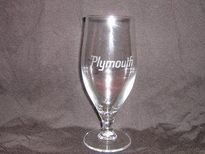 Plymouth ölglas