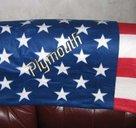 Plymouth old USA pläd