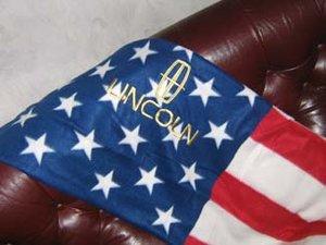 Lincoln USA pläd