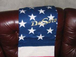 Desoto old USA pläd