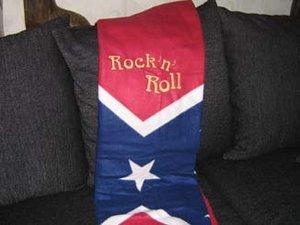 Sydstat Rock`n Roll pläd