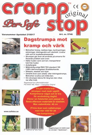 CrampStop Dagstrumpa