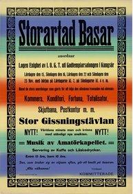 Affisch - Storartad basar