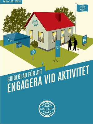 Guideblad för att engagera vid aktivitet