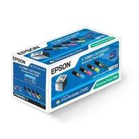 Epson Toner C1100 / CX11 Economy pack Svart/gul/cyan/magenta