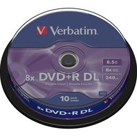 Verbatim DVD+R DL 8,5GB/240min, 10-pack