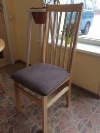 MÖRKÖ - stol långa Ribbor  2-pack