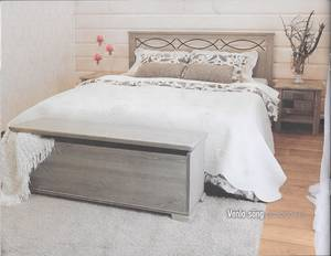 VENLA 160 x 200 sängpaket UTFÖRSÄLJNING