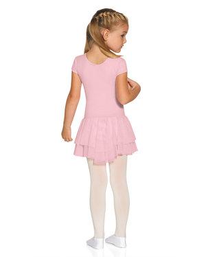 Söt kortärmad balettklänning