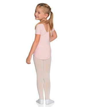 Kortärmad barndräkt i svart, rosa eller ljusblått