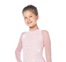 Rosa spetsklänning från Sagester