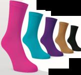 Muka, sköna, tunna sockor i 5 färger