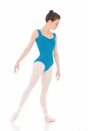 Svart, mörkblå eller petroleumfärgad dräkt/body med axelband