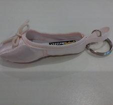 Nyckelring i form av en balettsko