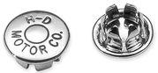 "Kromplugg  Insexbult 1/4"" Logo Chr"