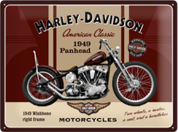 Tin Sign 30*40 cm Panhead 49
