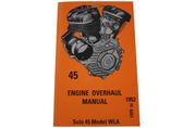 """Verkstadshandbok 45"""" Motor 1929-52"""