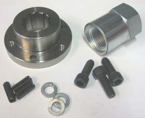 "3/4"" Front Pulley Offset Insert W/Nut Bdl"