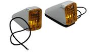 Wedge Marker Lights, Gul