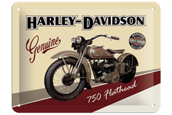 Tin Sign 15*20 cm HD Flathead 750