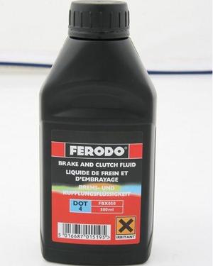 Bromsolja Ferodo 0,5L  Dot 4